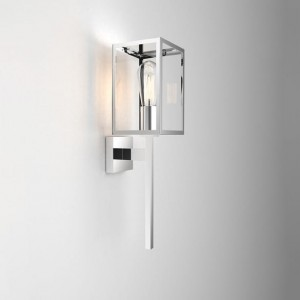 kinkiet zewnętrzny astro Coach 130 Wall Light Polished Nickel 8160
