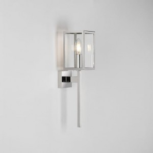 kinkiet zewnętrzny astro Coach 100 Wall Light Polished Nickel 8191